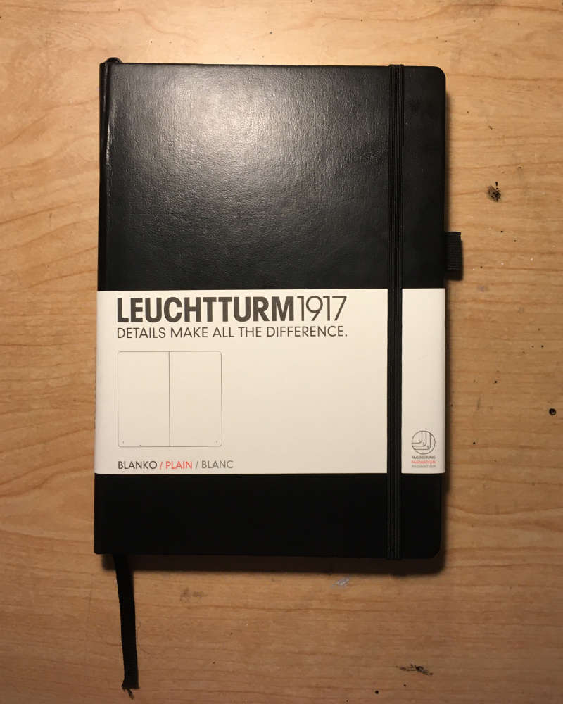 LEUCHTTURM1917 Plain Journal Front Cover with Paper Sleeve