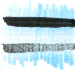 Prismacolor Premier Turquoise Graphite Drawing Leads, Non-Photo Blue, 2mm with Pentel Pocket Brush Pen